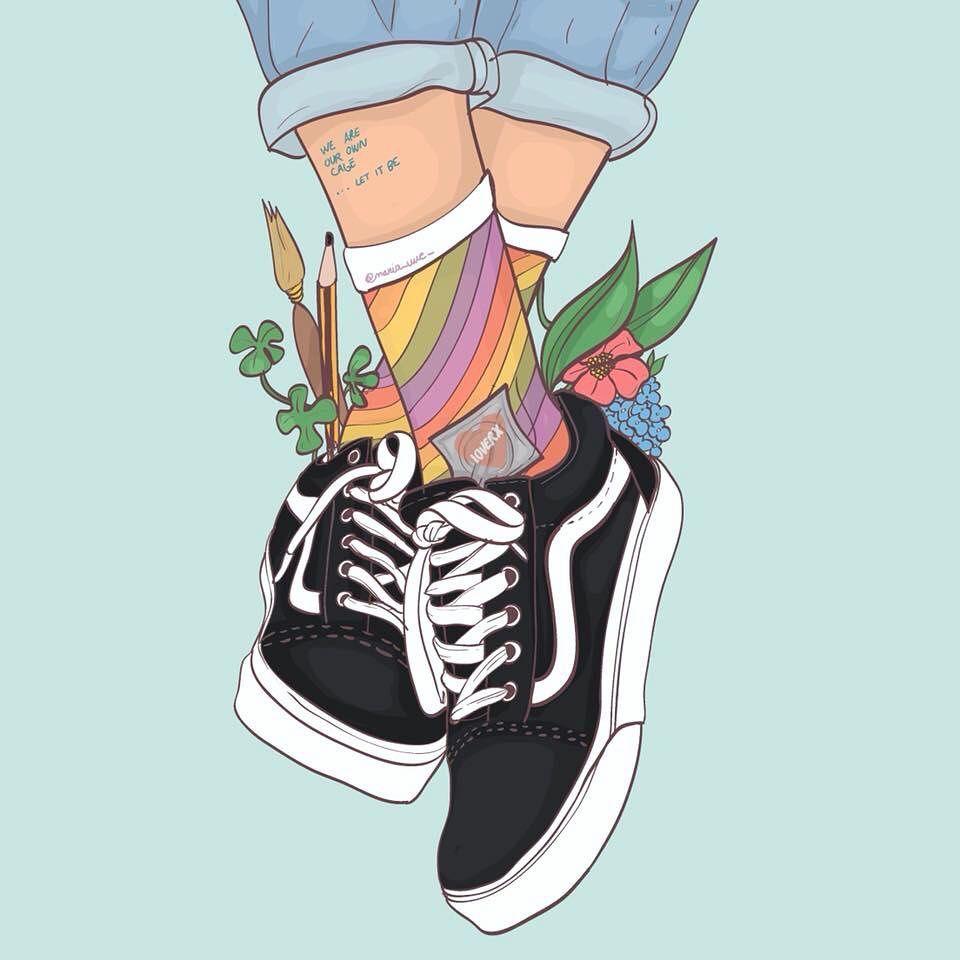 María uve. Arte en Instagram.