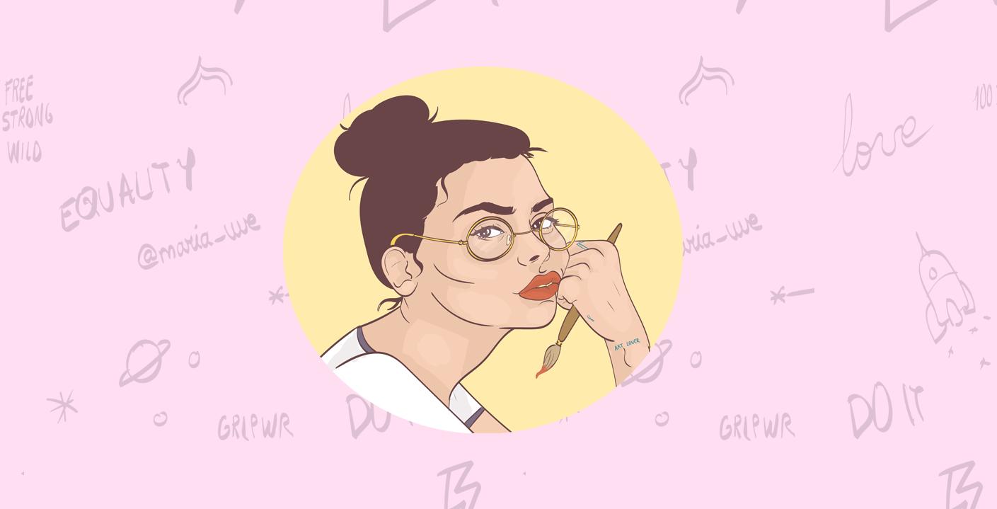 María Uve. Artista en Instagram.